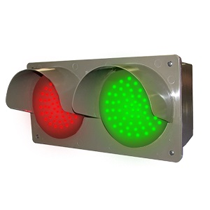 LED Traffic Controller - Horizontal, Red/Green 14
