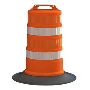Traffic Barrels - Orange Construction Barrels & Traffic ...