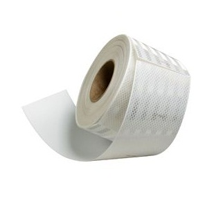 Flexible White Conspicuity HIP Grade Tape