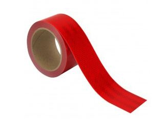 Flexible Red Conspicuity HIP Grade Tape