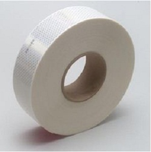 Reflective White Conspicuity Diamond Grade Tape