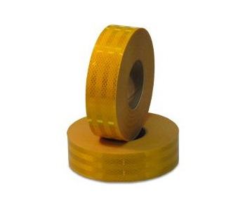 Reflective Yellow Conspicuity Diamond Grade Tape