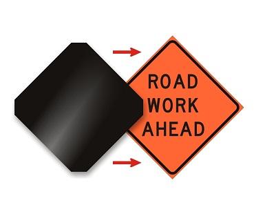 Sign Trafficsafetywarehouse com Black Covers Rigid -