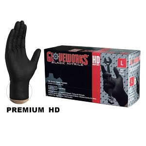 Gloveworks Black Nitrile Gloves