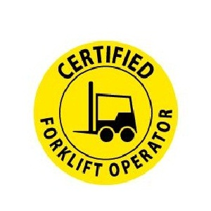 how to become forklift certified