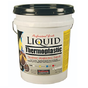 Liquid Thermoplastic Traffic Marking Paint 5 Gal - Black