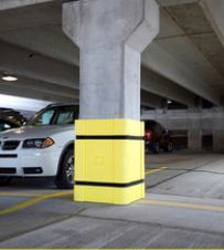 Column wraps and column protectors on sale for Garage column wrap
