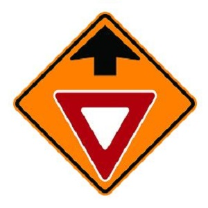 Yield Ahead Symbol Sign
