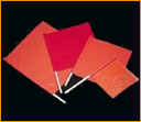 High Visibility Construction and Highway Safety Flags