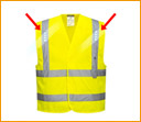 LED Safety Vest - Blinking LEDs