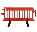 Movable Plastic Barrier