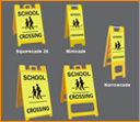 Portable School Zone Signage