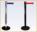 Stanchion - Affordable retractable Value series