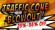 Traffic Cone Sale