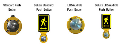 School Zone Sign Button Options