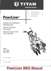 Total Powrliner 8955 Manual