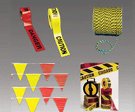 Safety Tape, Safety Flags, Safety Ropes