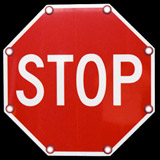 LED Solar Stop Sign