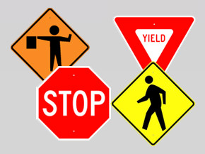 Traffic Signs and Sign Stands